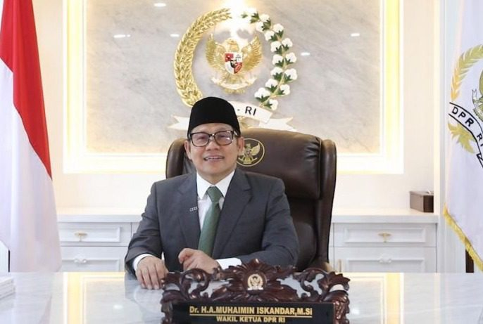 UNGKAPKAN: Wakil Ketua DPR RI, Abdul Muhaimin Iskandar. (ISTIMEWA/LINGKAR.CO)