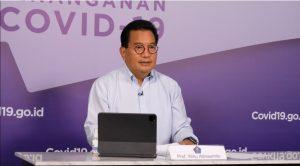 Satgas Evaluasi 50 Kabupaten/Kota dengan Kasus Aktif Tertinggi