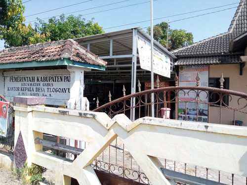 ILUSTRASI: Kantor Kepala Desa Tlogoayu, Kecamatan Gabus. (IBNU MUNTAHA/LINGKAR.CO)