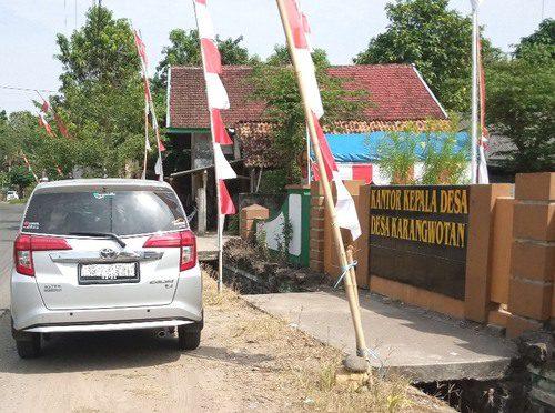ILUSTRASI: Kantor Kepala Desa Karangwotan, Kecamatan Pucakwangi. (IBNU MUNTAHA/LINGKAR.CO)
