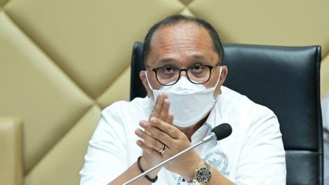 Wakil Ketua Komisi II DPR RI, Junimart Girsang. FOTO: Ist/Lingkar.co
