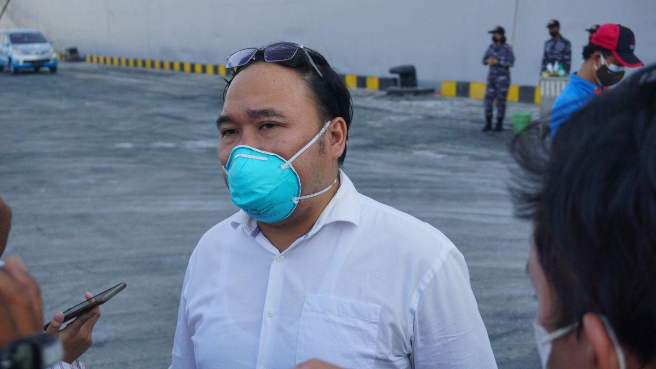 Kepala Dinas Kesehatan Kota (DKK) Semarang, M Abdul Hakam, FOTO: Dinda Rahmasari Tunggal Sukma/Lingkar.co