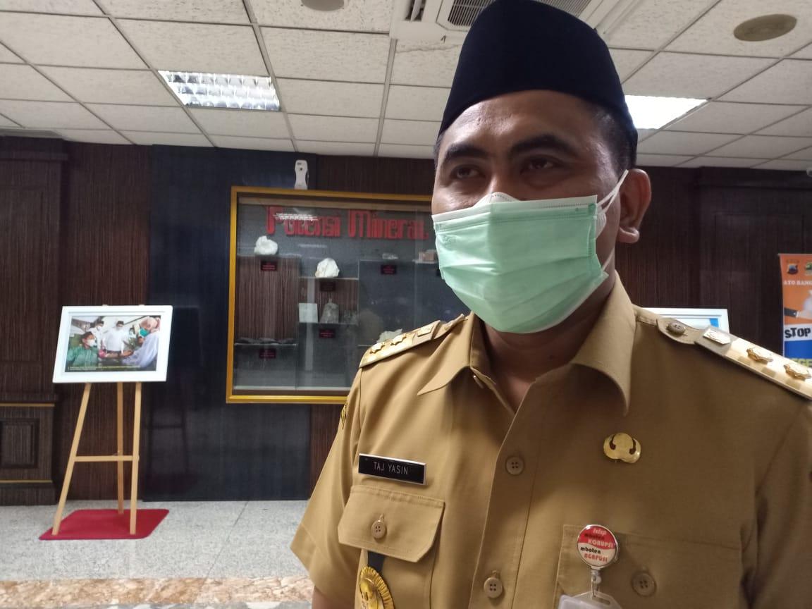 ILUSTRASI: Wakil Gubernur Jawa Tengah, Taj Yasin Maimoen (Gus Yasin) menjelaskan tentang Gedor Lakon untuk penanganan Covid-19 di Jawa Tengah. REZANDA AKBAR D/LINGKAR.CO