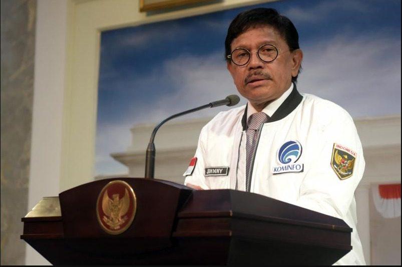 Menteri Komunikasi dan Informatika (Menkominfo), Johnny G. Plate. FOTO: Dok. BPMI/Lingkar.co