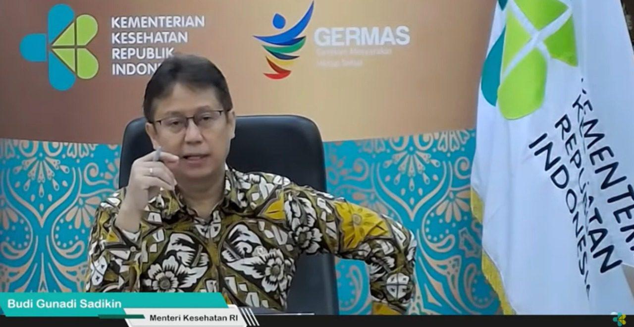 Menteri Kesehatan (Menkes) Budi Gunadi Sadikin. FOTO: Tangkap layar Youtube Kemenkes/Lingkar.co