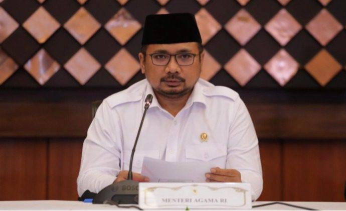 Menteri Agama (Menag) Yaqut Cholil Qoumas. FOTO: Humas Kemenag/Lingkar.co