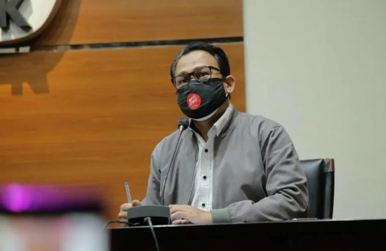 Plt Jubir KPK Bidang Kelembagaan dan Penindakan, Ali Fikri. FOTO: Dok. KPK/Lingkar.co