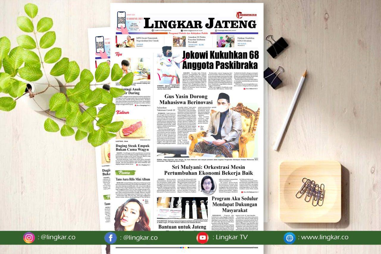 Koran Digital Lingkar Edisi Jumat 13 Agustus 2021