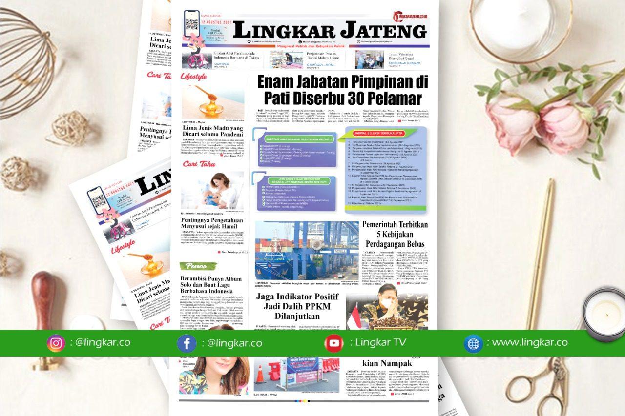 Koran Digital Lingkar Edisi Kamis 12 Agustus 2021