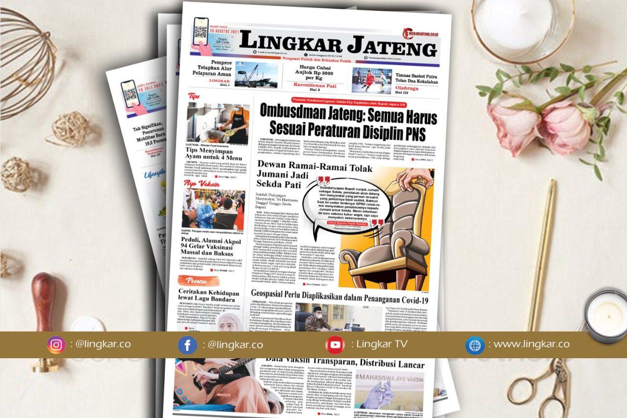Koran Digital Lingkar Edisi Kamis 26 Agustus 2021