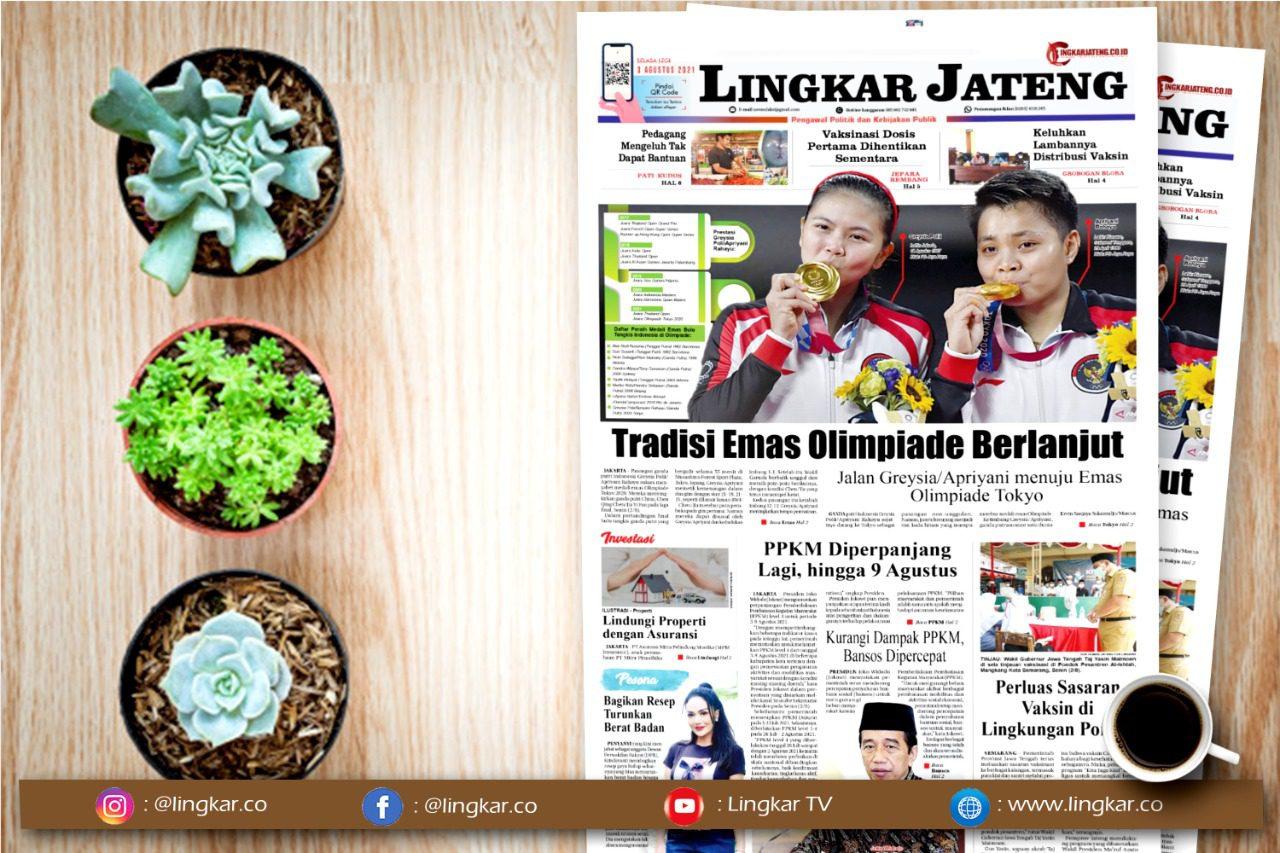 Koran Digital Lingkar Edisi Selasa 3 Agustus 2021