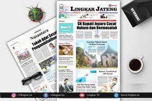 Koran Digital Lingkar Edisi Senin 30 Agustus 2021