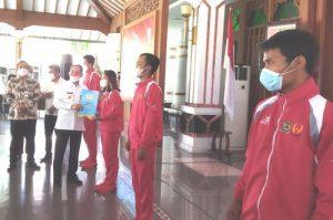 20 Atlet Asal Pati Dilepas ke PON Papua