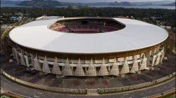 Stadion Lukas Enembe, jadi venue utama sekaligus lokasi Pembukaan Ceremonial PON XX Papua 2021. FOTO: ANTARA/Lingkar.co