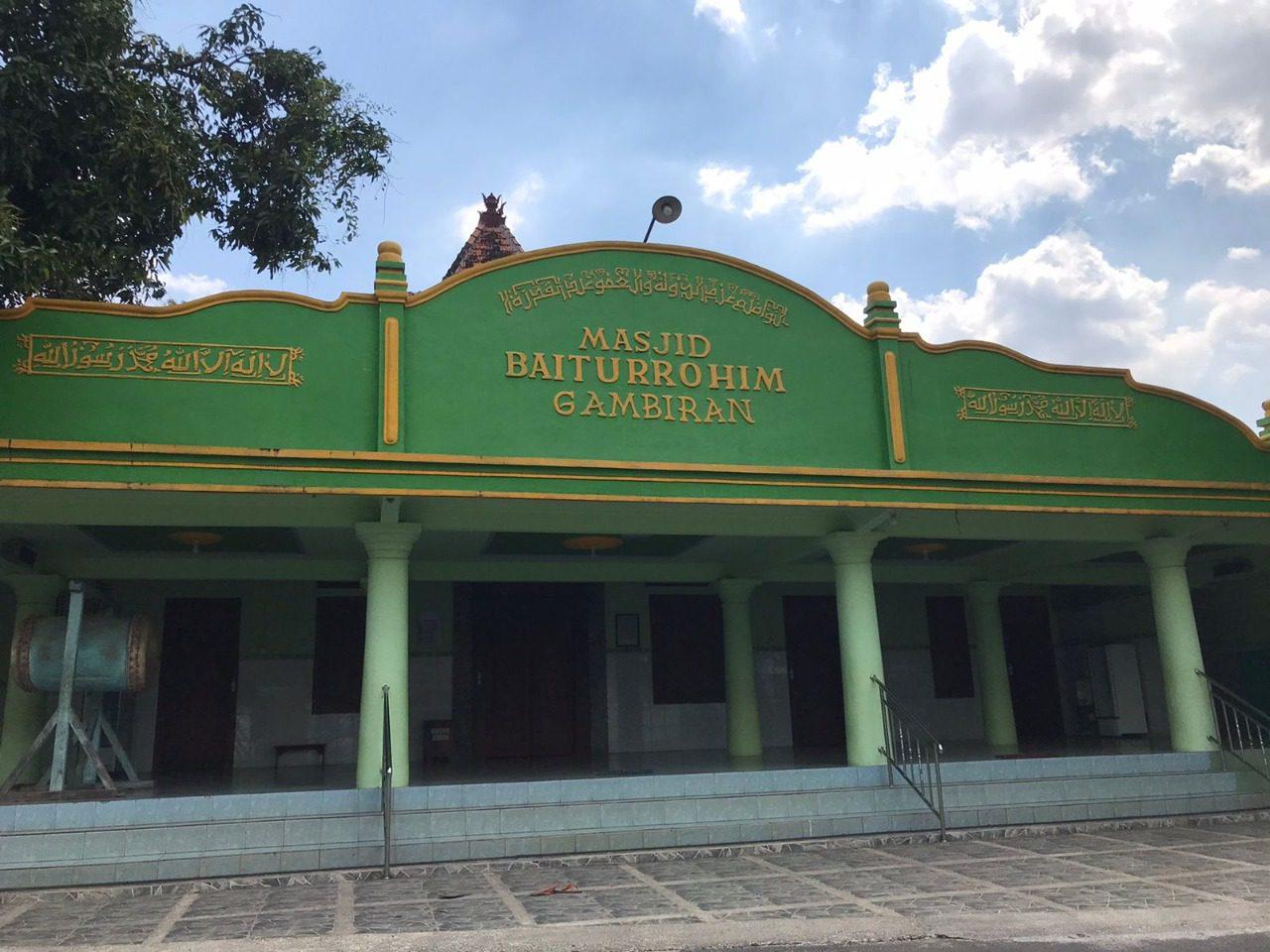 Foto masjid tertua di Pati. ISTIMEWA/Lingkar.co