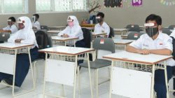 ILUSTARSI- Kegiatan pembelajaran tatap muka (PTM). FOTO: Ist/Lingkar.co