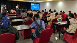 Suasana peningkatan kapasitas 123 relawan prokes, di Kota Jayapura, Papua, Jumat (24/9/2021). FOTO: Kiriman BNPB/Lingkar.co