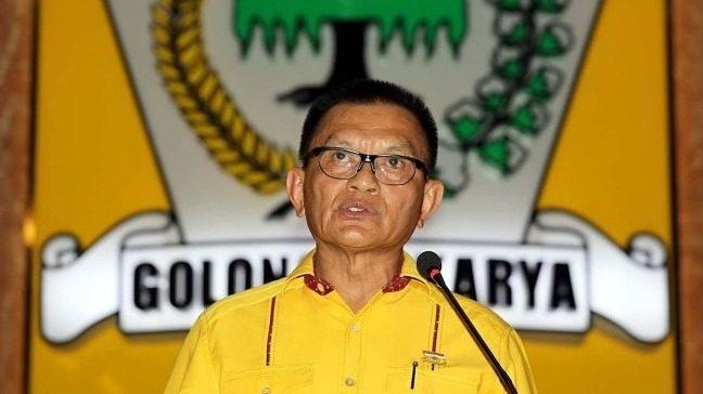 Wakil Ketua DPR RI yang baru, Lodewijk Paulus. FOTO: Ist/Lingkar.co