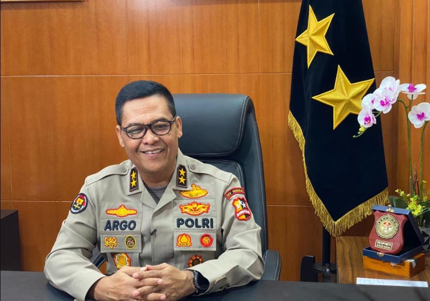 Kepala Divisi Humas Polri, Irjen Pol Argo Yuwono. FOTO: Istimewa Polri/Lingkar.co