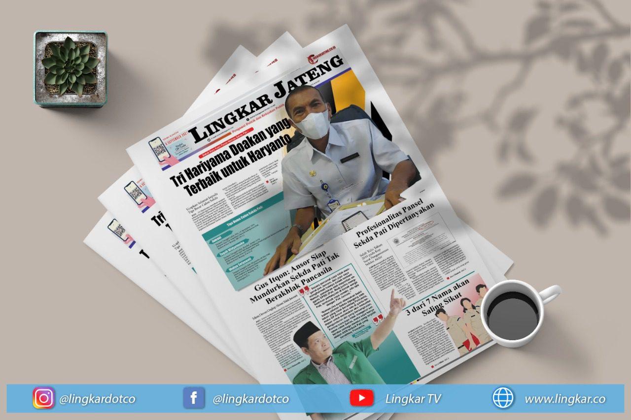 Koran Digital Edisi Senin 6 September 2021