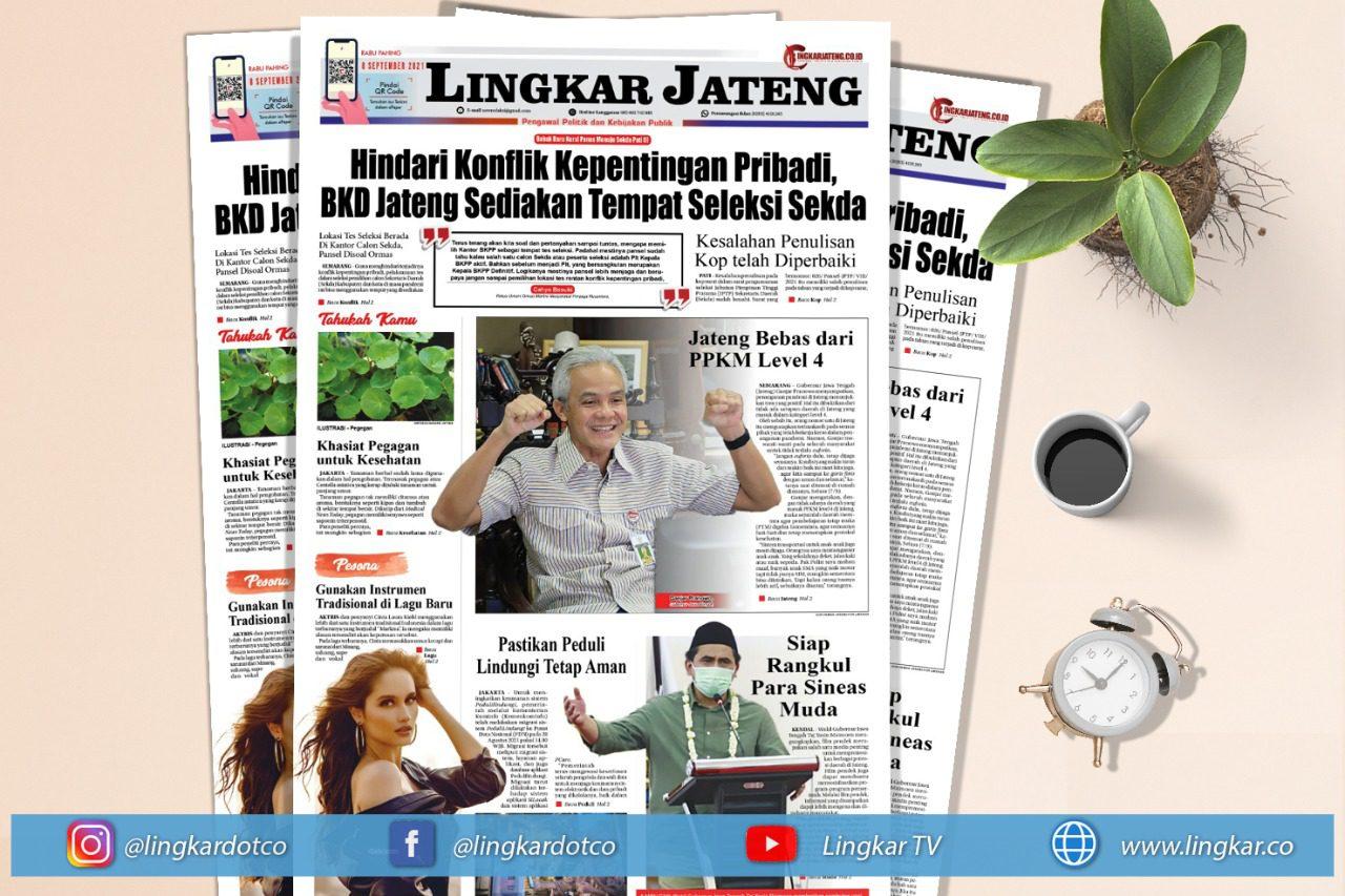 Koran Digital Edisi Rabu 8 September 2021