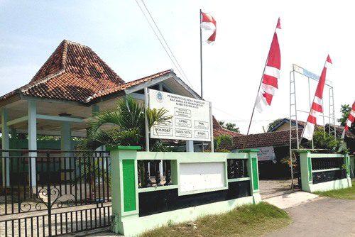 ILUSTRASI: Kantor Kepala Desa Badegan, Kecamatan Margorejo. (IBNU MUNTAHA/LINGKAR.CO)