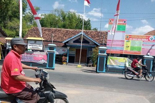 ILUSTRASI: Kantor Kepala Desa Dadirejo, Kecamatan Margorejo. (IBNU MUNTAHA/LINGKAR.CO)