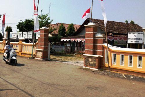 ILUSTRASI: Kantor Kepala Desa Suwaduk, Kecamatan Wedarijaksa. (IBNU MUNTAHA/LINGKAR.CO)