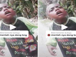Bikin Sedih, Pemotor Temukan Bocah Menangis Sendirian Di Jalan Trans Papua