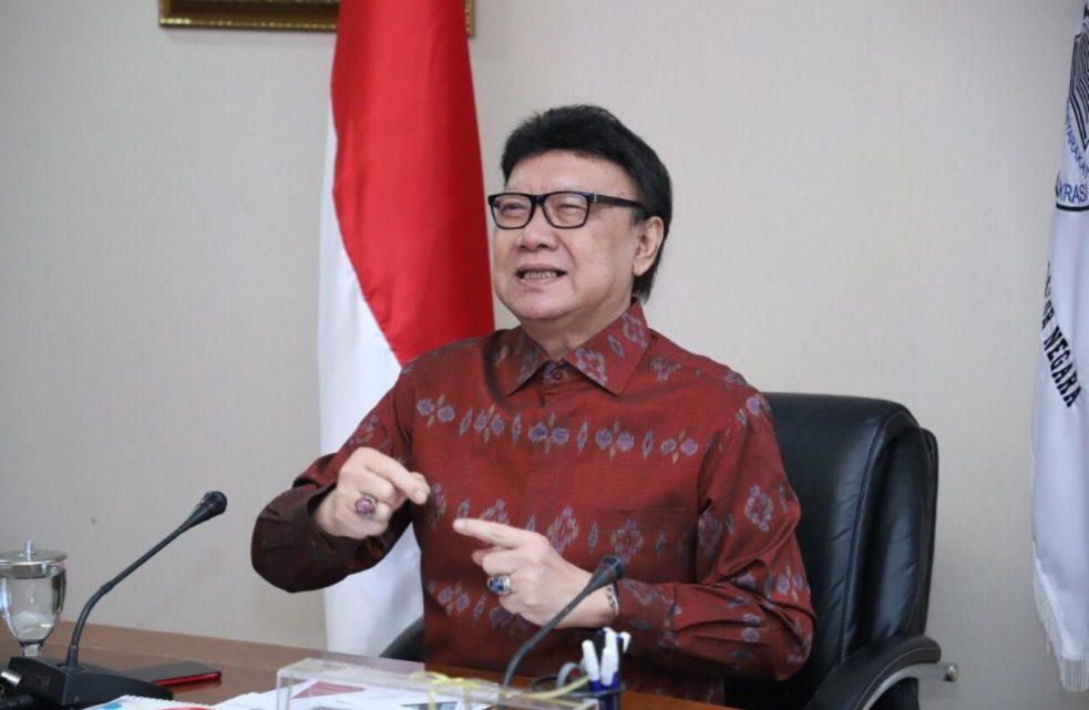 Menteri Pendayagunaan Aparatur Negara dan Reformasi Birokrasi (PANRB) Tjahjo Kumolo. FOTO: Dok. Kemenpan RB/Lingkar.co