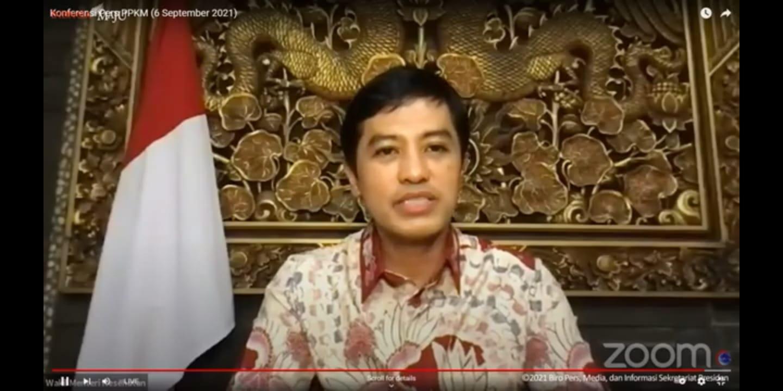 Wakil Menteri Kesehatan (Wamenkes) Dante Saksono Harbuwono, FOTO: Tangkap layar Youtube Setpres/Lingkar.co