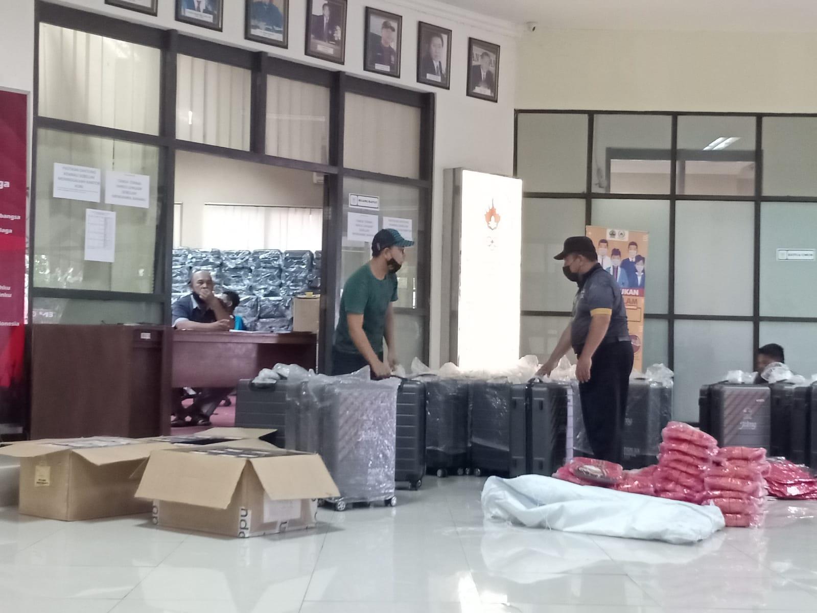 Persiapan PON XX Papua (7/9/2021). FOTO: Rezanda Akbar D/Lingkar.co