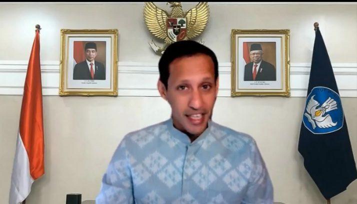 Mendikbudristek, Nadiem Anwar Makarim. FOTO: Tangkap layar IG/Lingkar.co