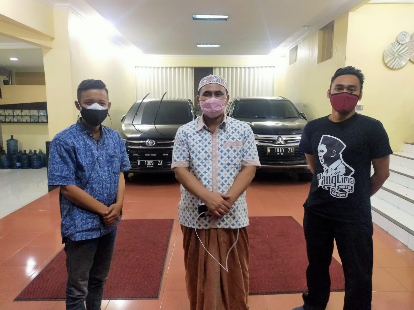 Wagub jateng saat dikunjungi Tim Lingkar.co di rumah dinasnya. FOTO: Rezanda Akbar D./LINGKAR.CO