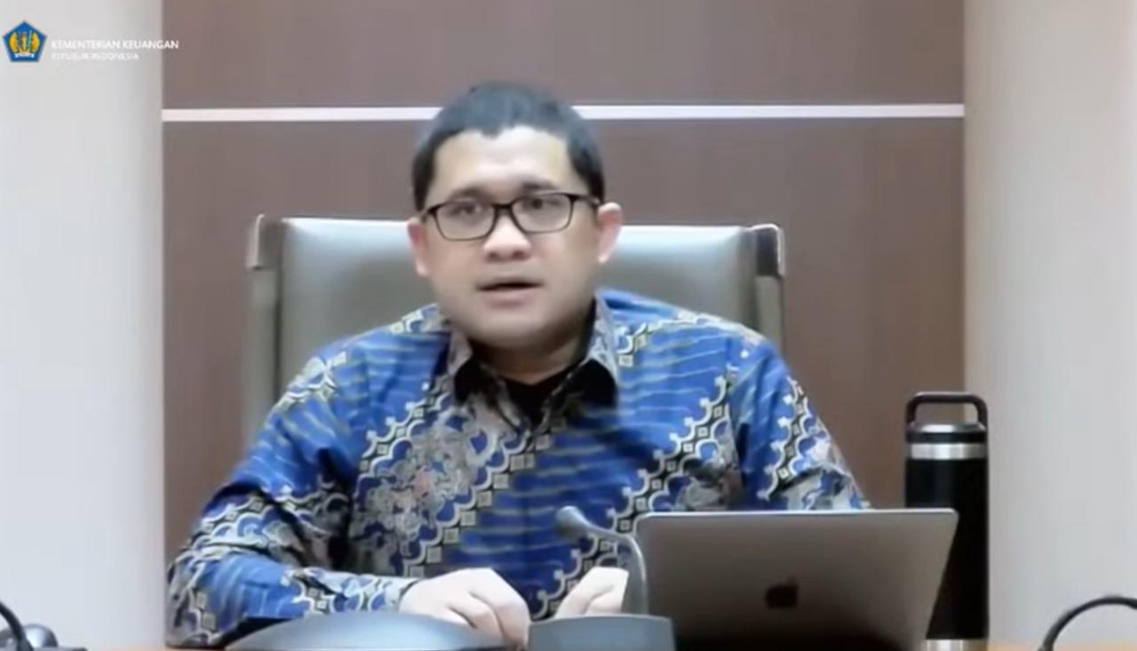 Kepala Badan Kebijakan Fiskal (BKF) Kementerian Keuangan, Febrio Kacaribu. FOTO: Tangkap Layar/Lingkar.co