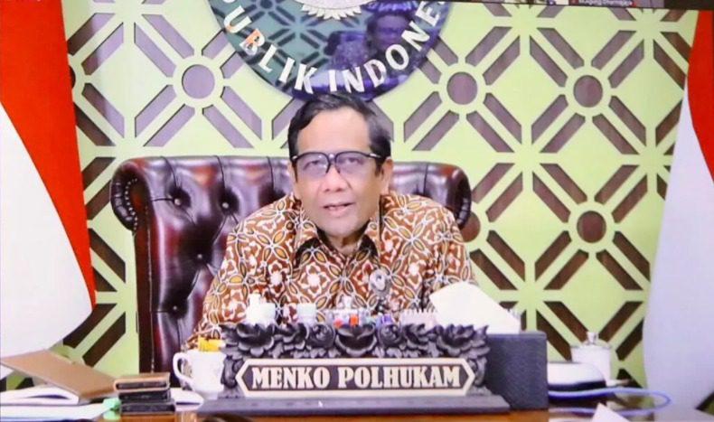 Menteri Koordinator Bidang Politik, Hukum, dan Keamanan (Menko Polhukam), Mahfud MD. FOTO: Dok. Kemenko Polhukam/Lingkar.co