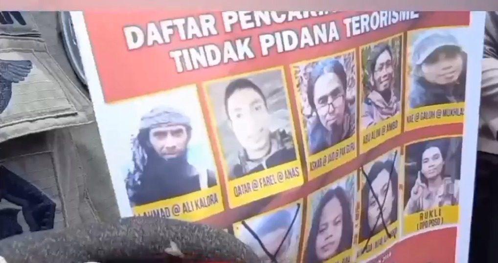 DPO kelompok teroris MIT Poso. FOTO: Ist/Lingkar.co