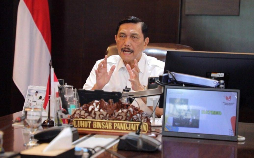 Menteri Koordinator Bidang Kemaritiman dan Investasi, Luhut B. Pandjaitan. FOTO: Dok. Kemenko Marves/Lingkar.co