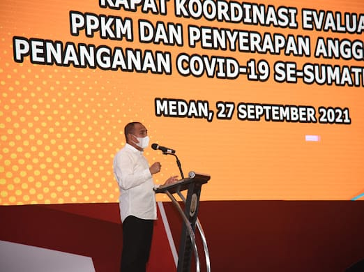 Gubernur Sumatera Utara, Edy Rahmayadi. FOTO: Matius Gea/Lingkar.co