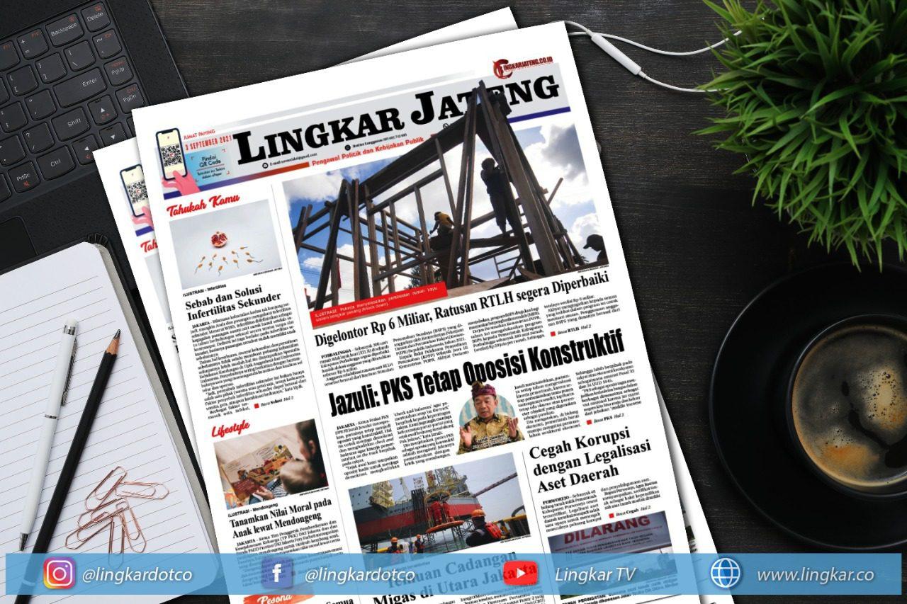 Koran Digital Lingkar Edisi Jumat 03 September 2021