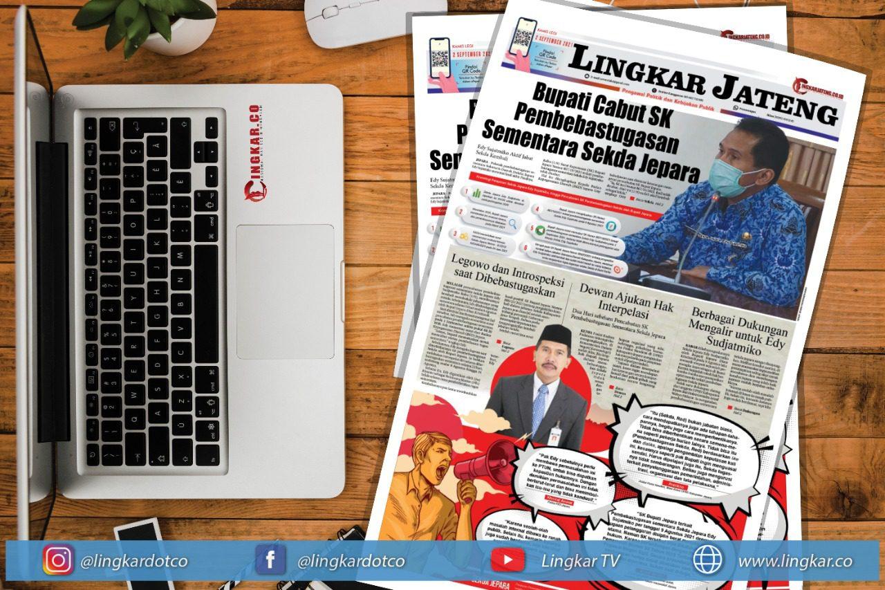Koran Digital Lingkar Edisi Kamis 02 September 2021