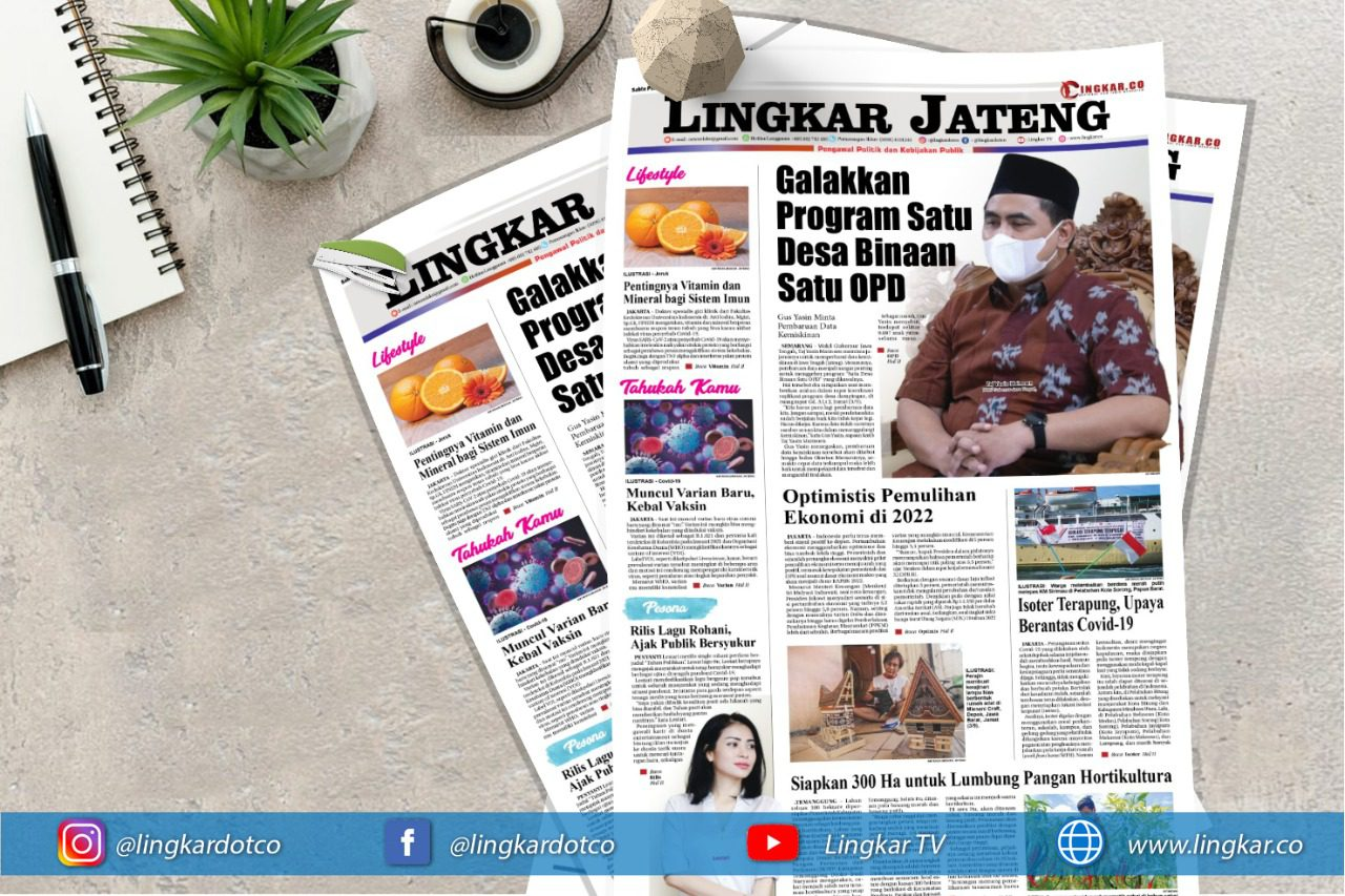 Koran Digital Lingkar Edisi Sabtu 04 September 2021