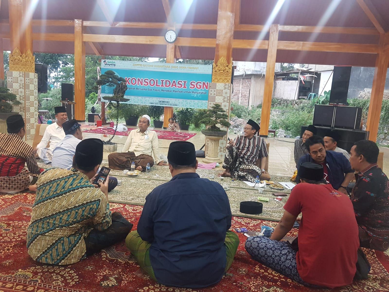 Acara Pertemuan Santri Gayen Nusantara, Jawa Tengah Bagian Selatan, TimH2/Lingkar.co