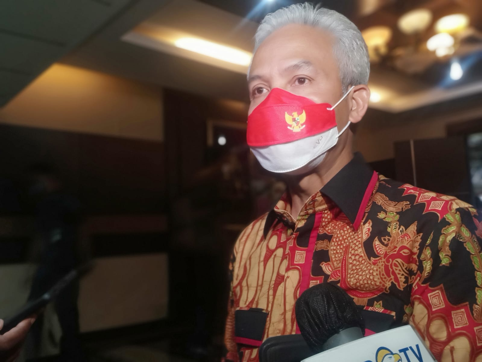Gubernur Jawa Tengah, Ganjar Pranowo. FOTO: Rezanda Akbar D/Lingkar.co