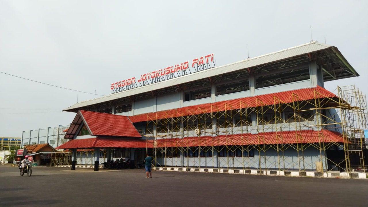 Ilustrasi Stadion Joyo Kusumo/Lingkar News Network
