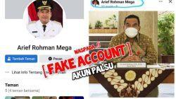 Tangkapan layar akun palsu Bupati Blora Arief Rohman. Facebook/Lingkar.co